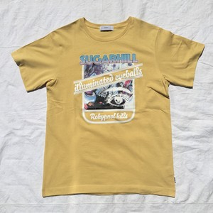 SUGARHILL シュガーヒル / Faded Rohy Band Tour Tee / Yellow