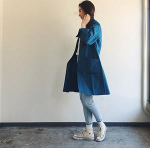 panenka ドクターコート  WHYTE COAT BLUE GREEN