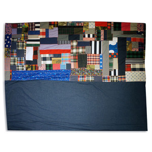 Patchwork & Denim Multi Cover