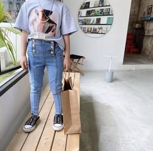 ハイウエストパンツ 韓国服 子供服