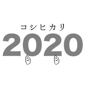農薬化学肥料不使用の石川県産コシヒカリ 2kg 2020年