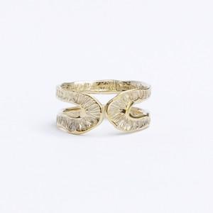 conoa (コノア) しもばしらの指飾り gold