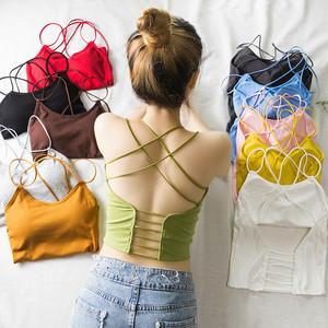 【tops】ファッション着痩せ無地人気キャミソール21881125