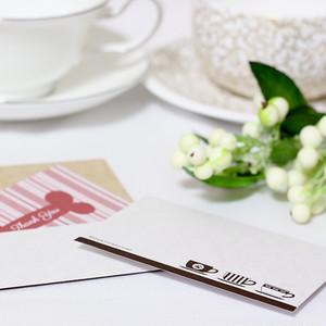 ホワイトクラフト カフェ ミニ封筒(5枚入)