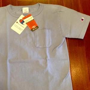 Champion / チャンピオン | T1011 USA Pocket T - ライトブルー