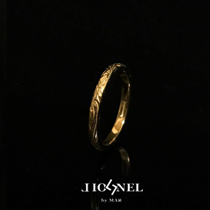 24kgp Hawaiian jewelry ring(細)