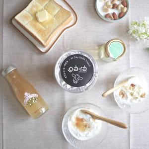 朝の食卓にギリシャヨーグルトセット