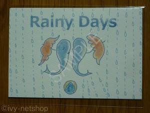 Rainy Days ポストカード