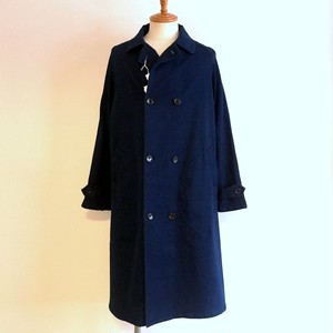 Stretch Denim Coat Indigo