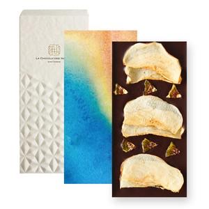 【季節のチョコレート】ドライアップル&キウイトッピングダークチョコレート(レギュラーサイズ)