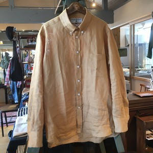 "James  Mortimer ""Long Sleeve B.D.(Comfort Fit)""(CAMEL)"
