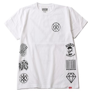 "RUDIE'S / ルーディーズ | "" CONFUSE "" - Tee / White"