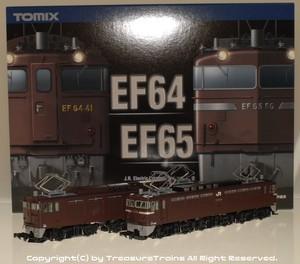 EF64形41号機/EF65形65号機 2両セット(TOMIX製#98977)