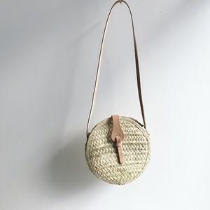 Round Straw Bag/ Shoulder