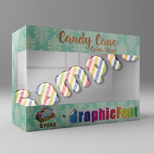 【Candy Cane(Color Stripe)】