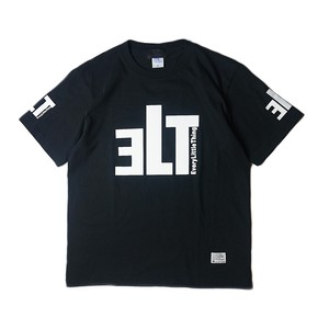 ELT LOGO T-SHIRT BLACK