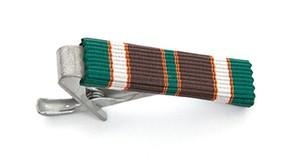 ミリタリーリボン ネクタイピン ソサイエティー ストライプ Society Ribbon Tie Bar