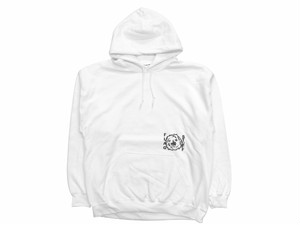 """MIX UP"" HOODIE WHITE 18AW-FS-38"
