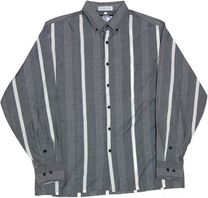 80年代 90年代 FASHION POLICE ストライプ シャツ 【L】 | ヴィンテージ 古着