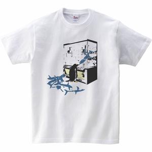 [キッズTシャツ] 買占めペンギン