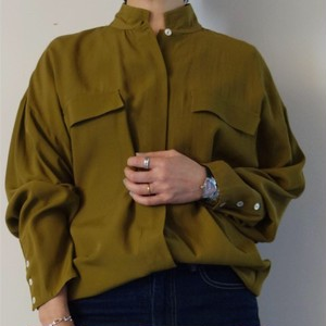 Drop Shoulder Safari Shirt