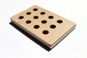 Card case ハードメープル