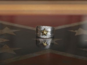 Starlight Ring -Silver Plated Brass-