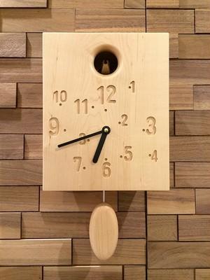 カッコー時計 メープル
