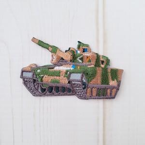 戦車ワッペン◆1枚