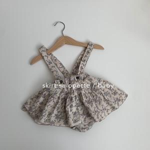 655. skirt salopette / baby