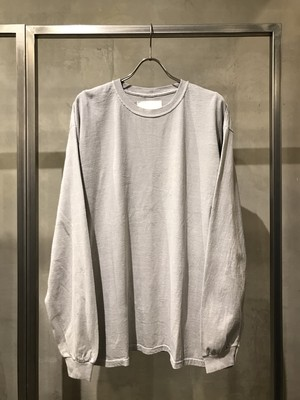 TrAnsference loose fit long sleeve T-shirt - past white