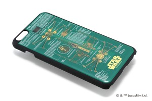 FLASH STAR WARS 基板アートiPhone6/6s Plus ケース  緑  【東京回路線図ピンズをプレゼント】