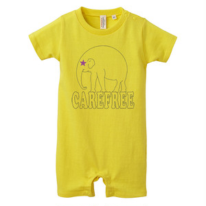 [ロンパース] carefree / yellow