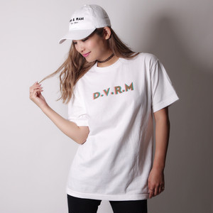 """Made in USA"" 3D PRINT Tee(white)"