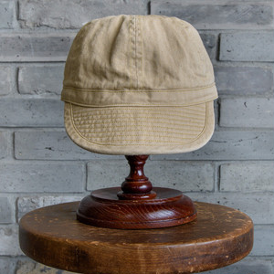 COTTON WORK CAP (BEIGE) / GERUGA