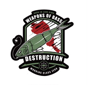 DESTRUCTION STICKER