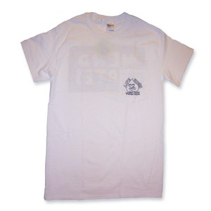 LIFE SUCKS DRINK BEER 白 POCKET TEESHIRT S size