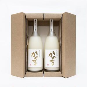 純米発泡濁酒かやま(箱入)2本セット