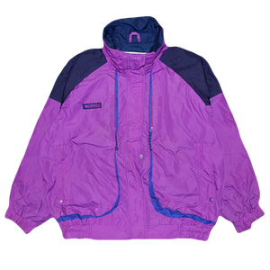 """90s Columbia Powder Keg"" Vintage Nylon Jacket Used"