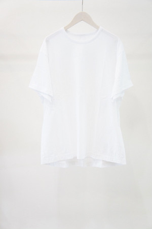 Back Slit Short Sleeve -WHITE- / Ground Y
