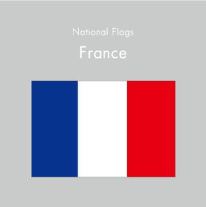 国旗ステッカー フランス