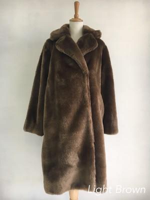 Bilitis dix-sept ans (ビリティス・ディセッタン)    Fake Fur Long Coat