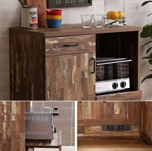 CAVA Kitchen Cabinet 800 / 西海岸ヴィンテージスタイル キッチンキャビネット
