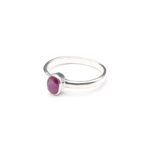 SINGLE PETIT STONE NON-ADJUSTABLE RING 023