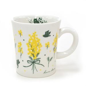 harebare マグカップ ミモザの花かんむり