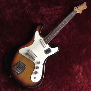 c.1960s Pleasant SEV-218 ビザールギター 調整済 6ヶ月保証