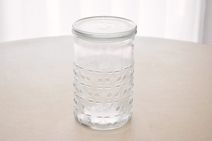 Riihimaen lasi Kirsi large jar with lid(Nanny Still)