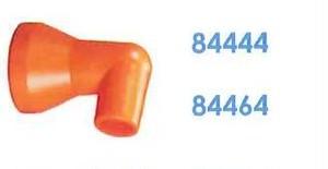 """84464 汎用クーラントホース1/2"""" 3/8"""" 90°ノズル"""
