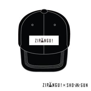 ZIP▲NGU! CAP [BLACK]