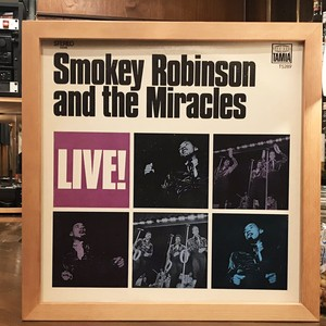 Smokey Robinson And The Miracles ‎– Live! (LP)